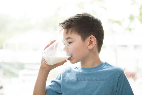 anak disarankan minum susu soya